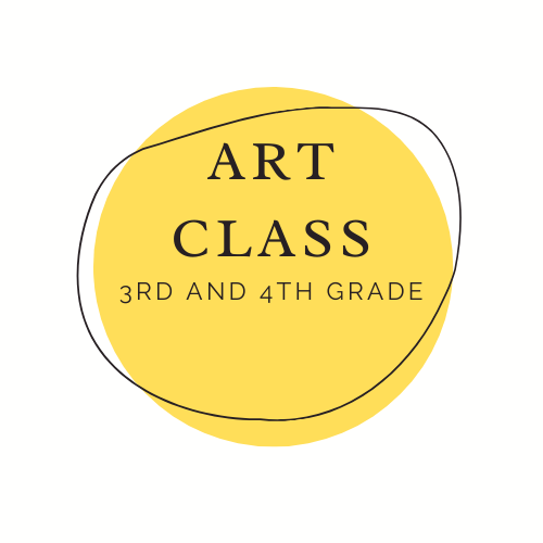 Art Class button grades 3 and 4