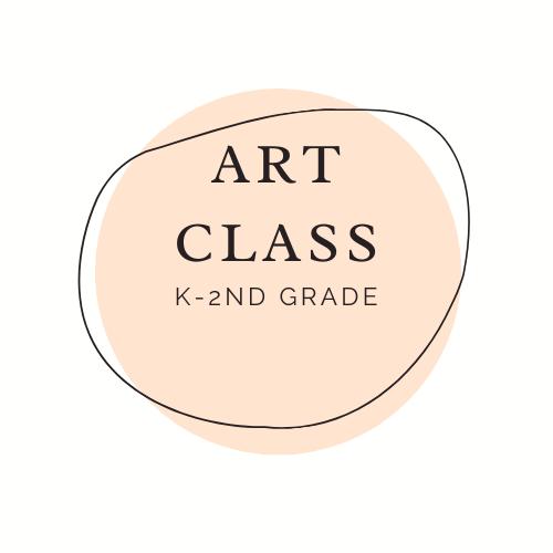Art Class k-2 button