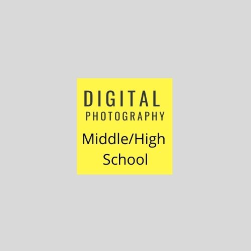 Digital photo icon for web page